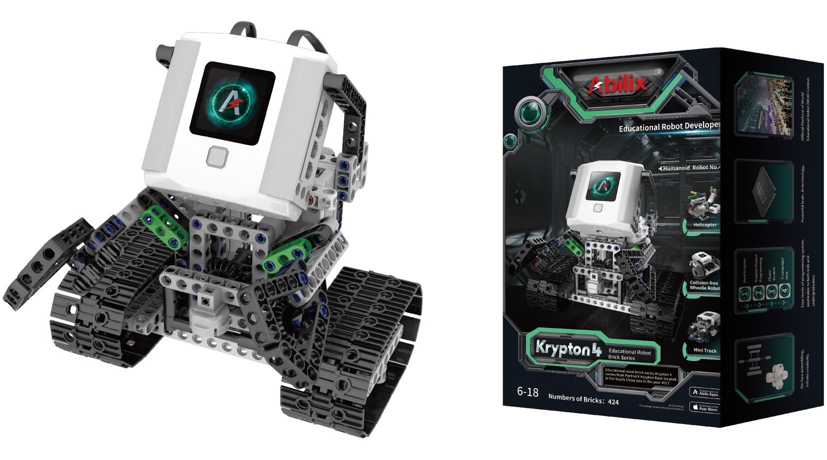 Детский конструктор-робот Krypton 4 фото