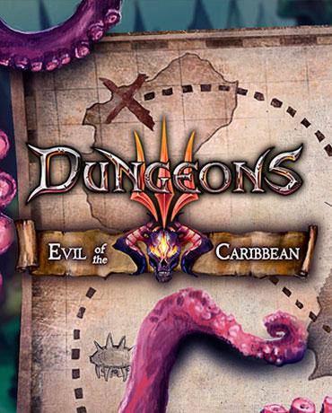 Dungeons 3. Evil Of The Caribbean. Дополнение [PC, Цифровая версия] (Цифровая версия) фото