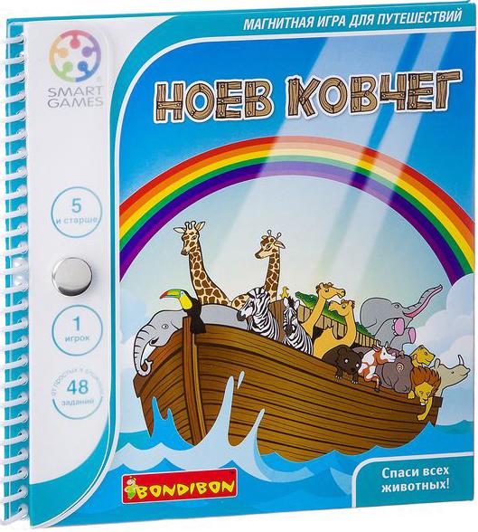 Магнитная компактная игра для путешествий Ноев ковчег фото