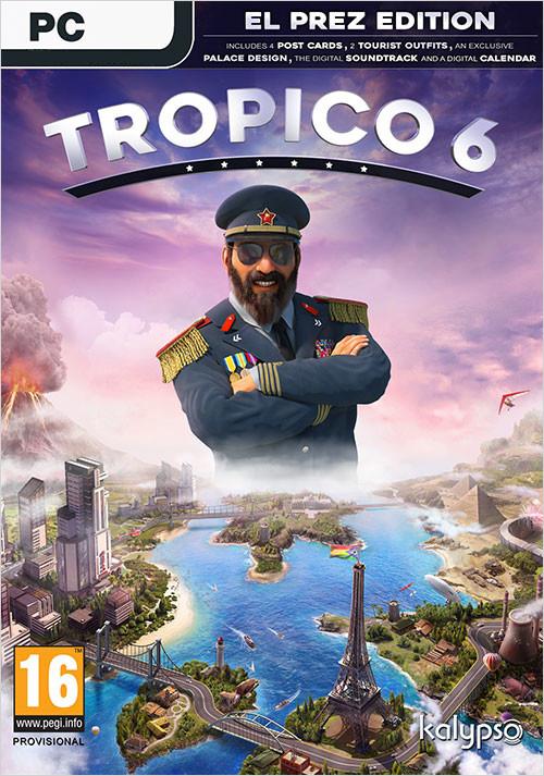 Tropico 6. El Prez Edition [PC, Цифровая версия] (Цифровая версия) фото