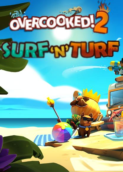 Overcooked! 2: Surf 'n' Turf. Дополнение [PC, Цифровая версия] (Цифровая версия)