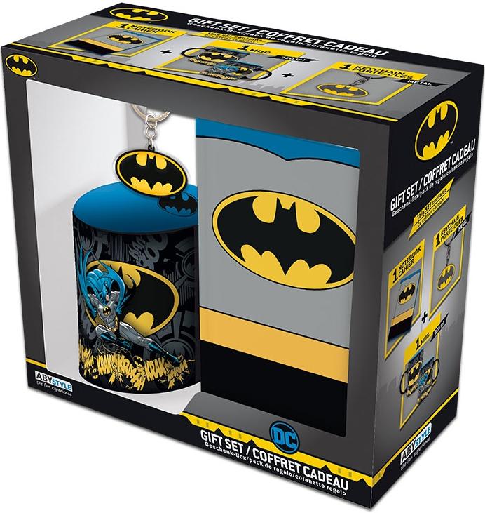 Набор DC Comics Batman (кружка + блокнот + брелок)
