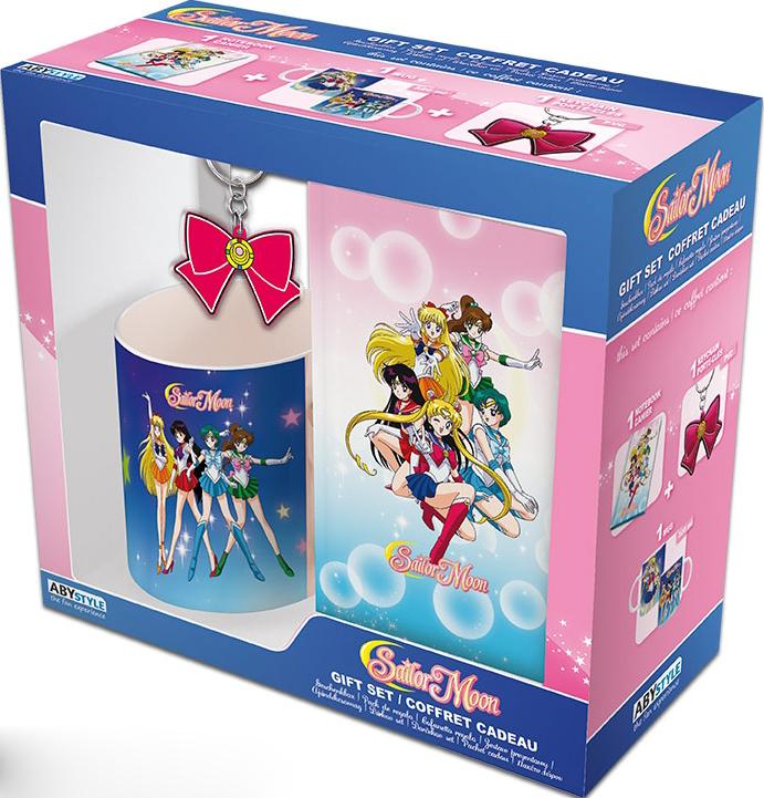 Набор Sailor Moon (кружка + блокнот + брелок)