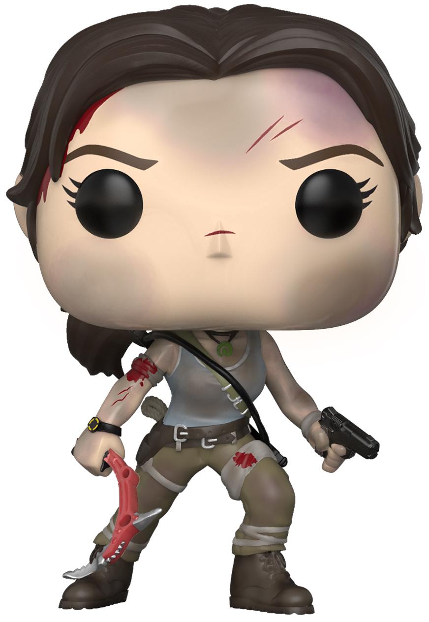 Купить со скидкой Фигурка Funko POP Games: Tomb Raider – Lara Croft (9,5 см)
