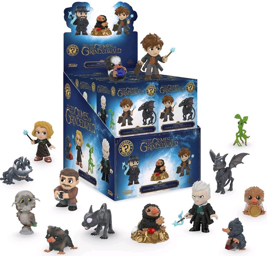Фигурка Funko Mystery Minis Blind Box: Fantastic Beasts 2: The Crimes Of Grindelwald (1 шт. в ассортименте)