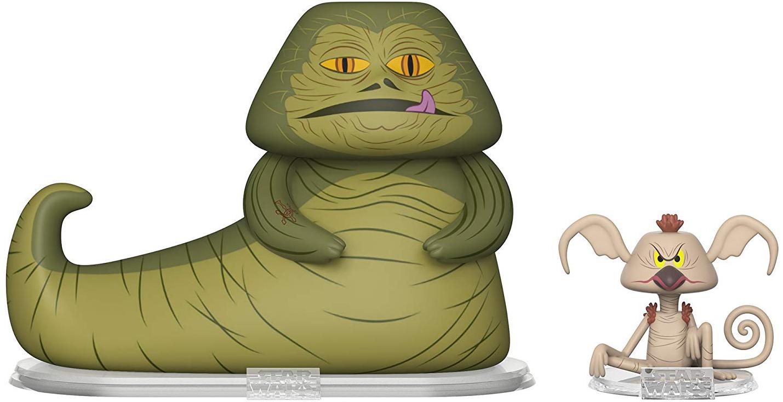 Фигурка Funko Vynl: Star Wars – Jabba the Hutt + Salacious Crumb (2-Pack) фото