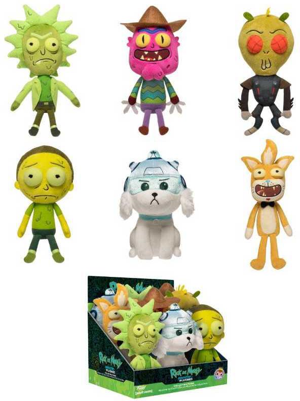 Мягкая игрушка Funko: Rick And Morty – Galactic Plushies (1 шт. в ассортименте)