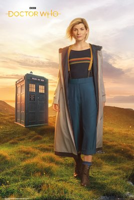 Плакат Doctor Who: 13th (№184)