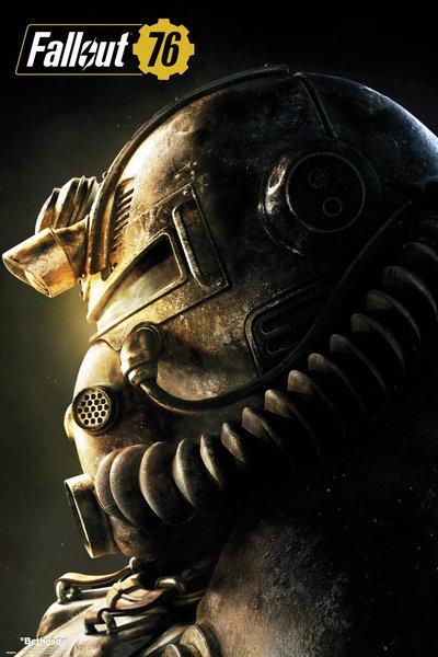 Плакат Fallout 76: T51b (№190) фото
