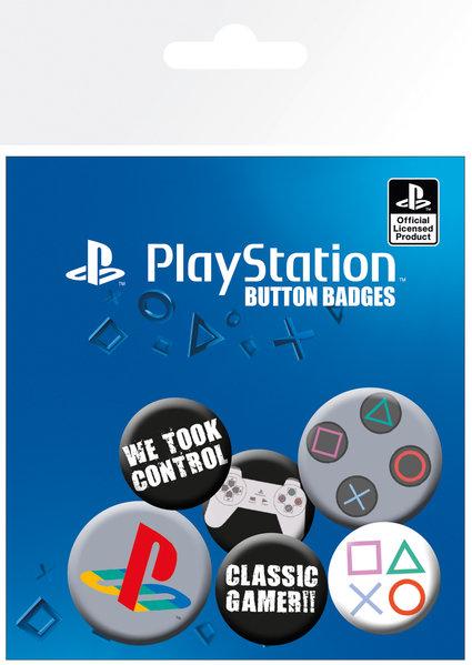 Набор значков Playstation