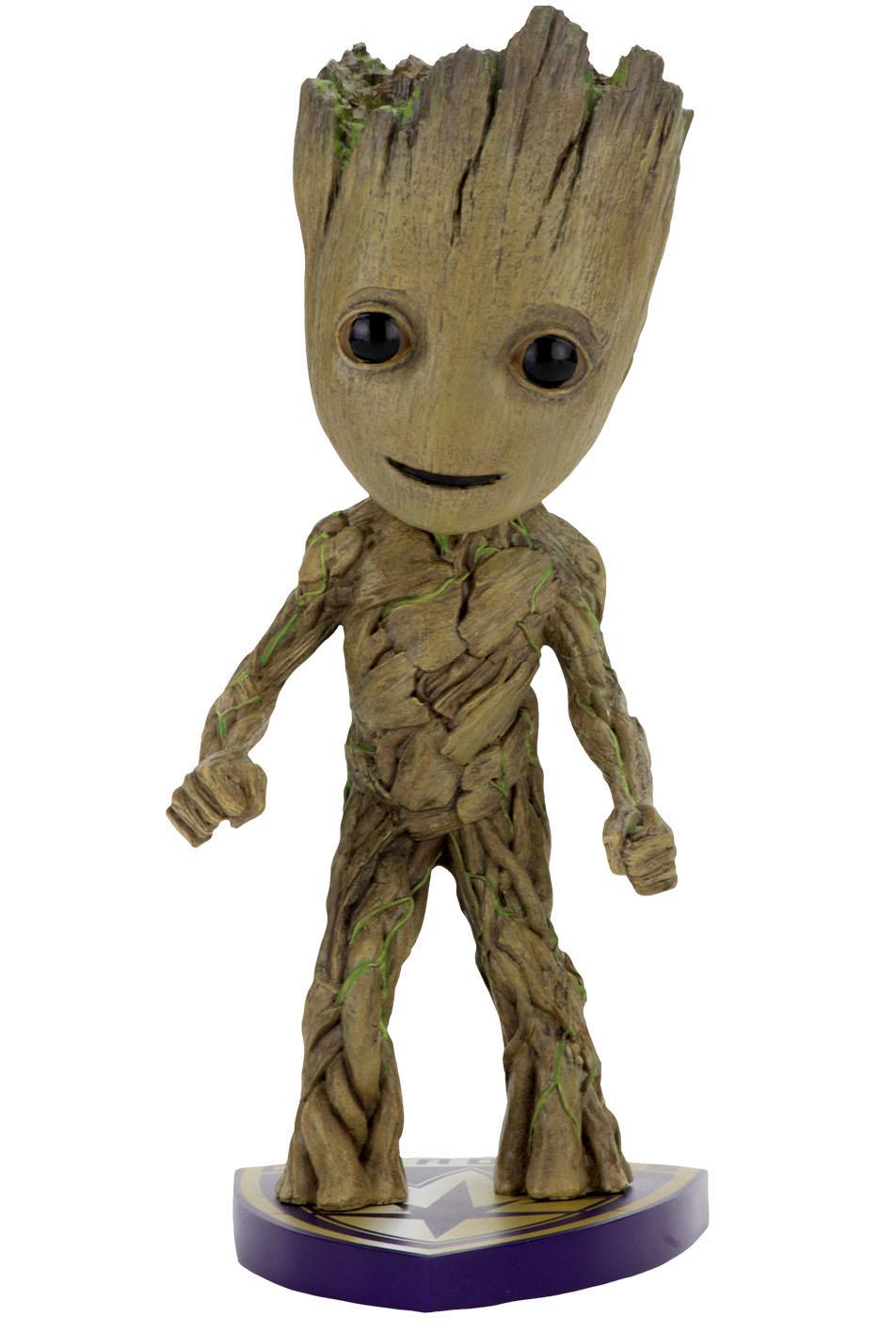 Фигурка NECA: Guardians of the Galaxy 2 – Groot Head Knocker (17 см)