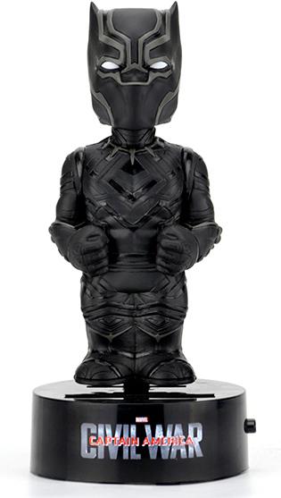 Фигурка NECA: Captain America: Civil War – Black Panther на солнечной батарее (15 см)