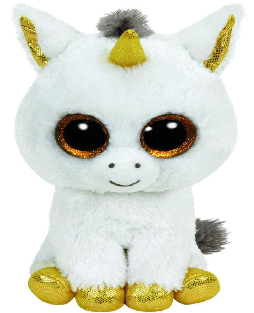 Мягкая игрушка Beanie Boo's: Единорог Pegasus (15 см) фото