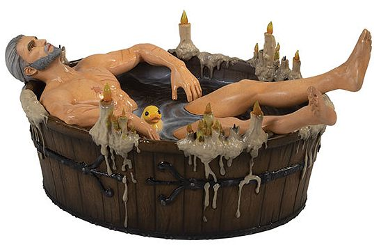 Фигурка The Witcher 3: Wild Hunt – Geralt In The Bath фото