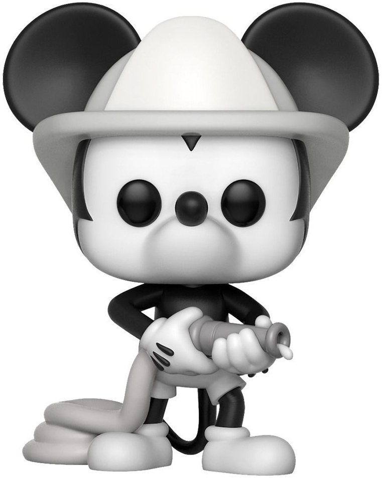 Фигурка Funko POP: Disney Mickey's The 90th Anniversary – Firefighter Mickey (9,5 см)
