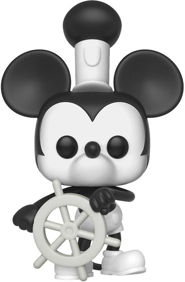 Фигурка Funko POP: Disney Mickey's The 90th Anniversary – Steamboat Willie (9,5 см)