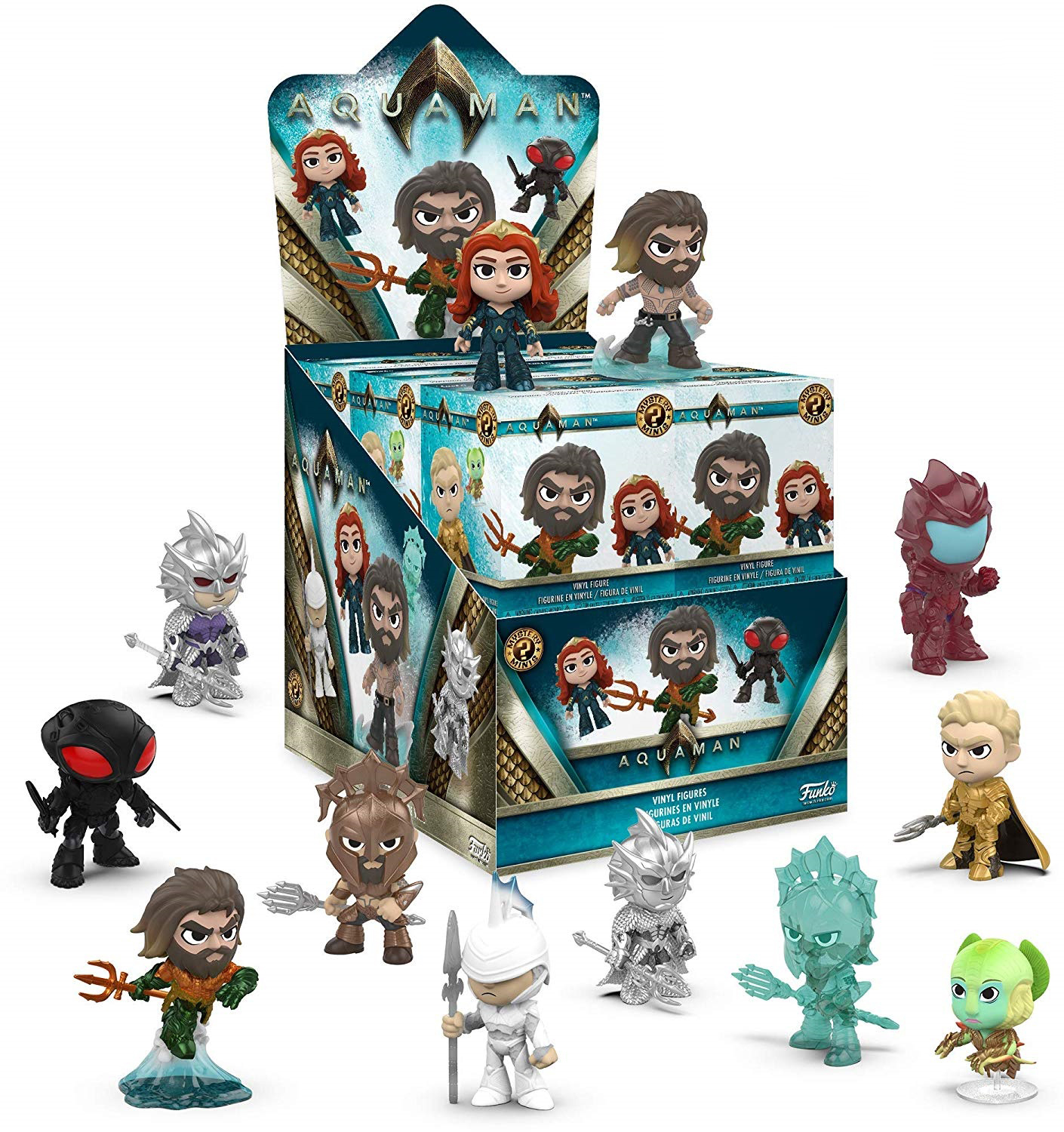 Фигурка Funko Mystery Minis Blind Box: Aquaman (1 шт. в ассортименте) (7,5 см) aquaman the legend of aquaman