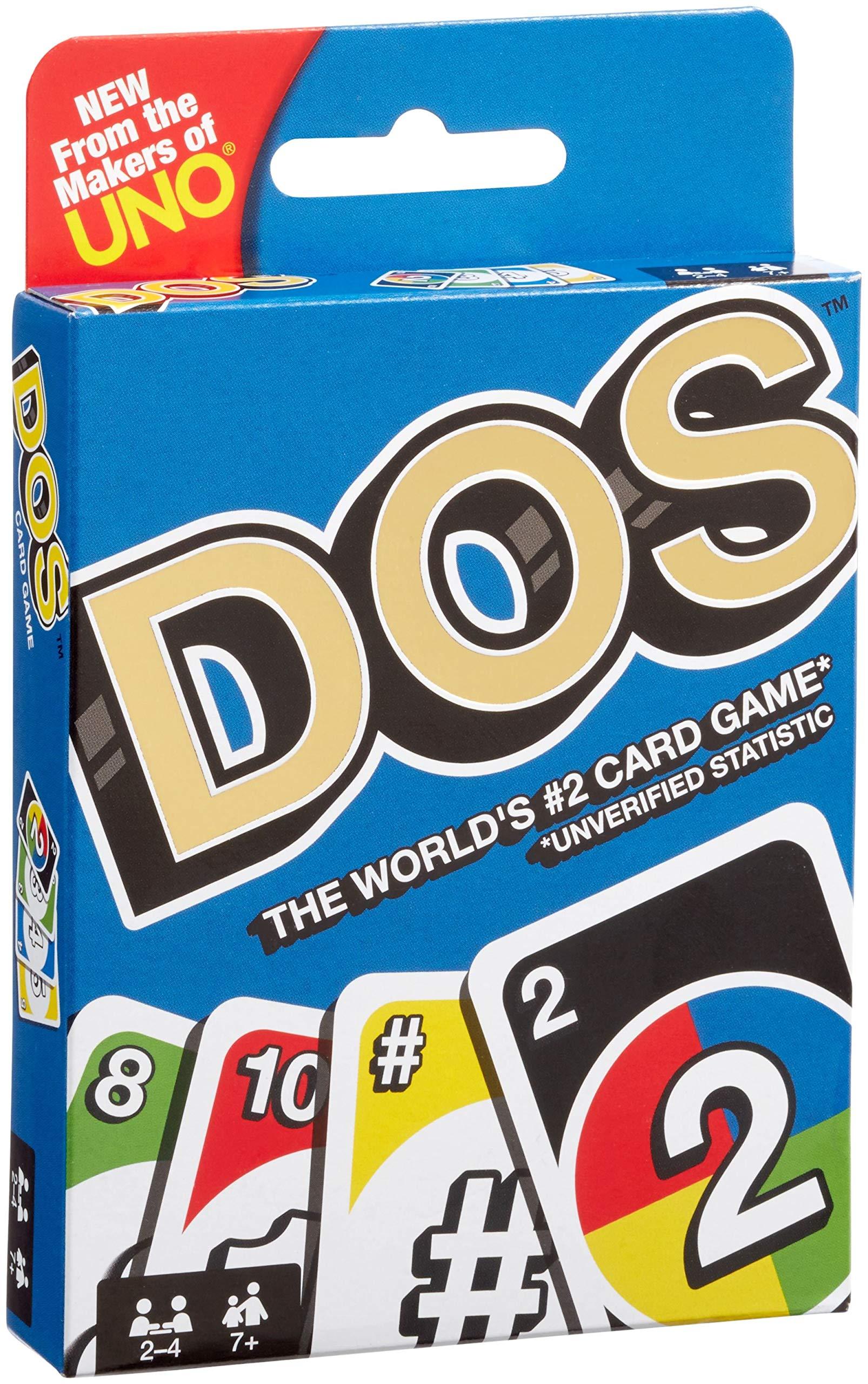 Фото - Настольная игра Dos настольная игра mattel uno w2087