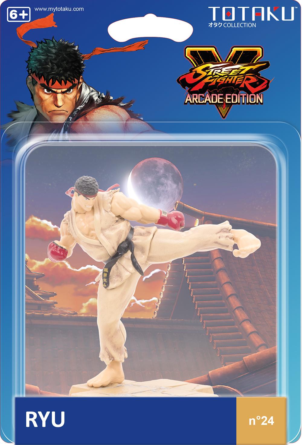 Фигурка TOTAKU Collection: Street Fighter 5 – Ryu. Arcade Edition (10 см) фото