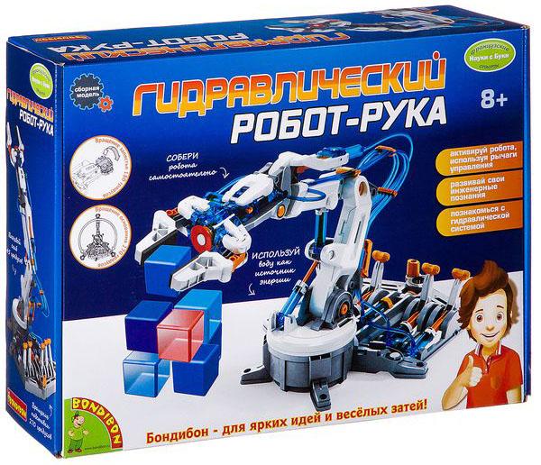 Конструктор Гидравлический робот-рука фото