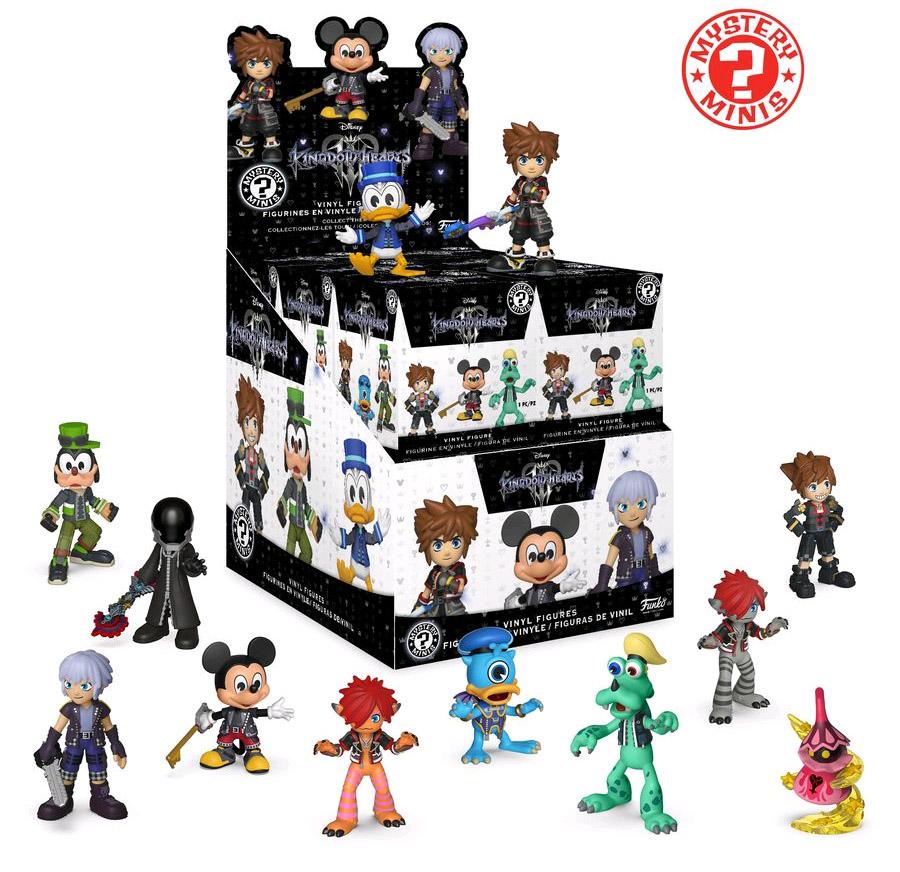 Фигурка Funko Mystery Minis Blind Box: Kingdom Hearts 3 (1 шт. в ассортименте) фото