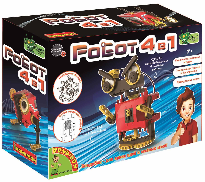 Конструктор Роботы (4 в 1) конструктор роботы 4 в 1
