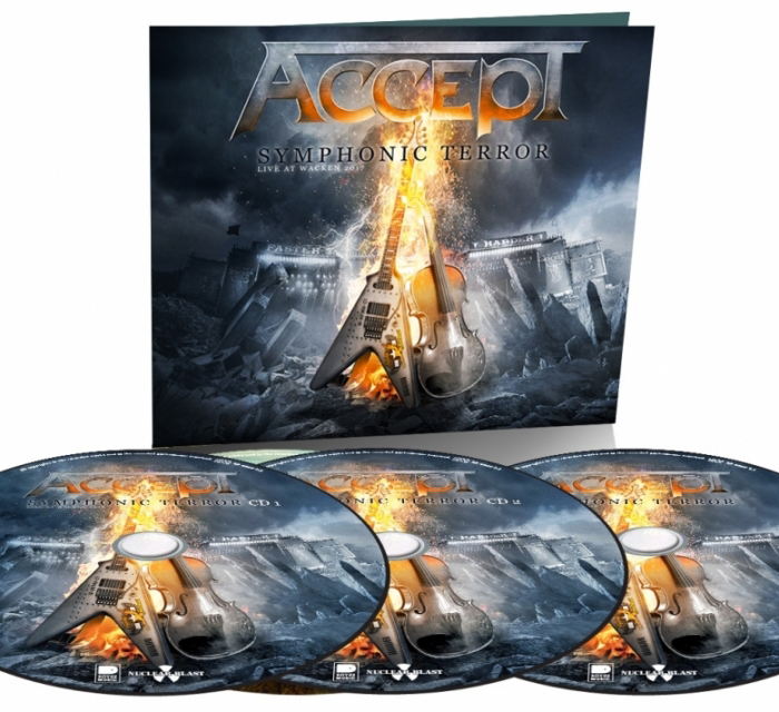 Accept – Symphonic Terror Live At Wacken (2 CD + DVD) фото