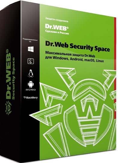 Dr.Web Security Space. Продление (1 ПК + 1 моб. устр./ 1 год) [Цифровая версия] (Цифровая версия) фото
