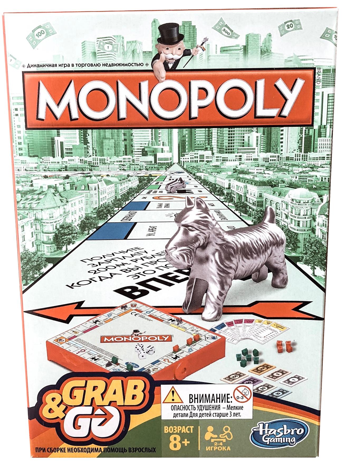Настольная игра Дорожная Монополия