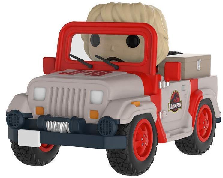 Фигурка Funko POP Rides: Jurassic Park – Park Vehicle фигурка funko pop rides speed racer спиди на машине 45098
