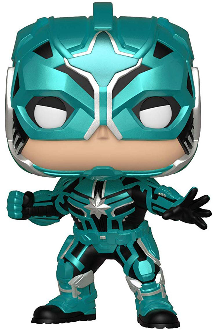 Фигурка Funko POP: Captain Marvel – Star Commander Bobble-Head (9,5 см) фото