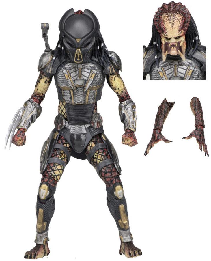 Фигурка NECA: Predator – Ultimate Fugitive Predator (2018) (18 см)
