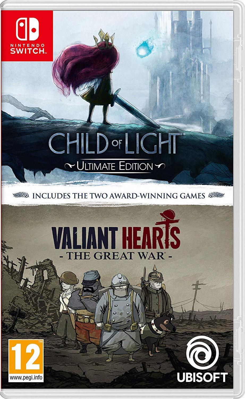 sabaton the great war cd Комплект Child of Light. Ultimate Edition + Valiant Hearts. The Great War [Switch]