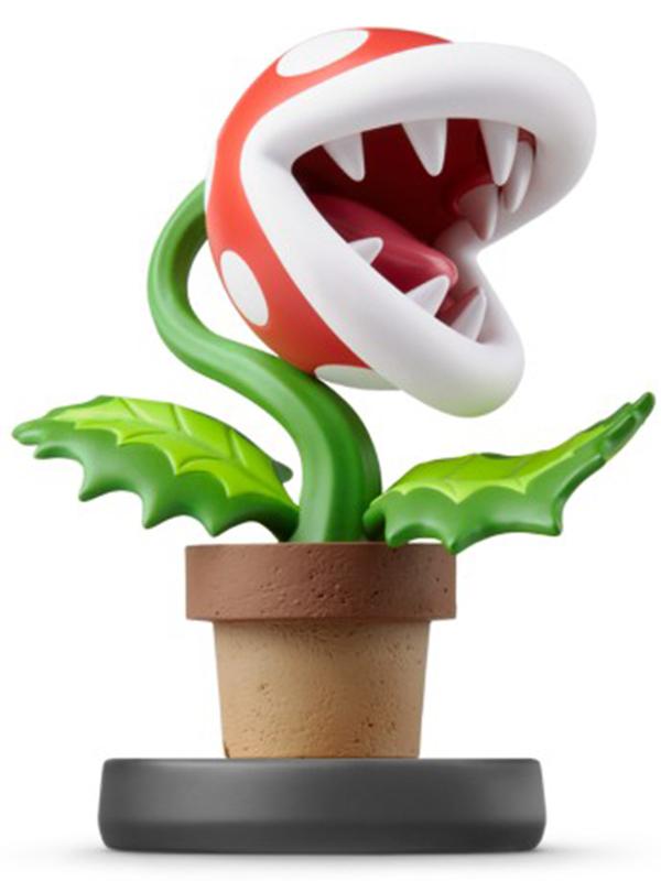 Super Smash Bros: Интерактивная фигурка amiibo – Растение-Пиранья фото