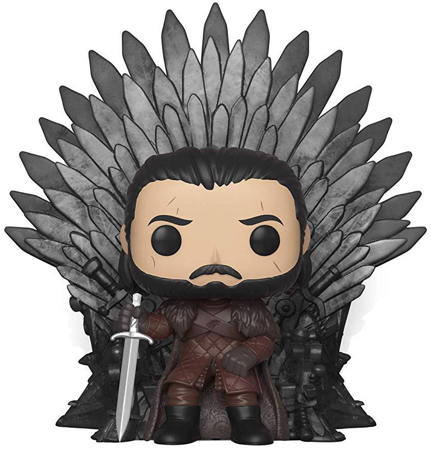 Фигурка Funko POP: Game Of Thrones – Jon Snow On Throne (9,5 см) фото