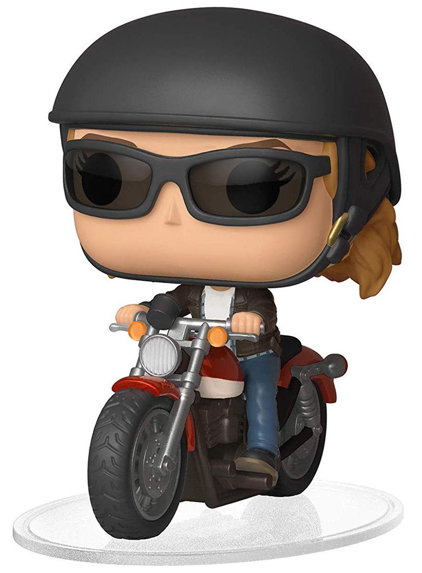 Фигурка Funko POP Rides: Captain Marvel – Carol Danvers On Motorcycle фигурка funko pop rides speed racer спиди на машине 45098