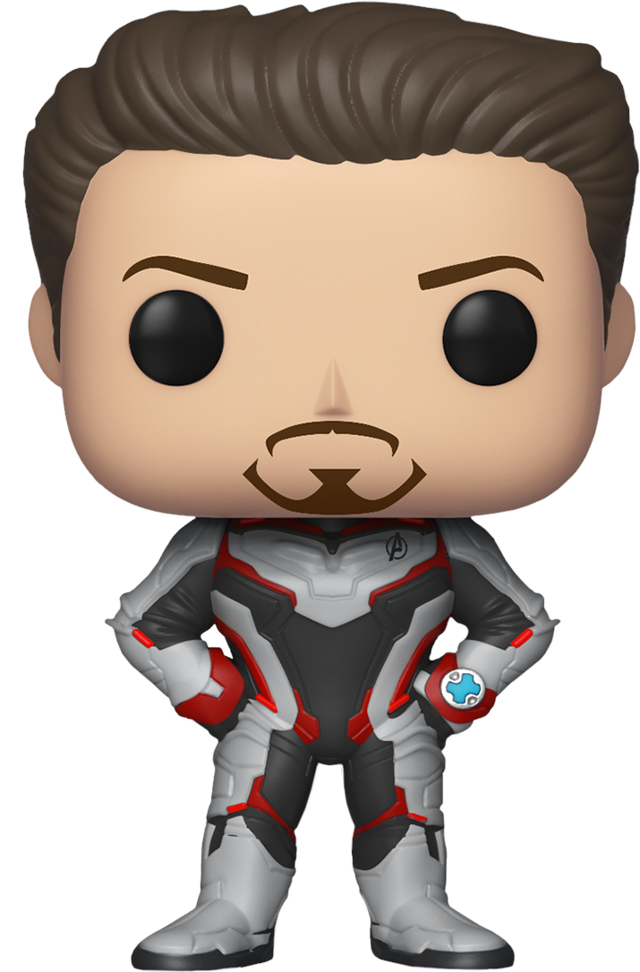 Фигурка Funko POP Marvel: Avengers Endgame – Tony Stark Bobble-Head (9,5 см) фото