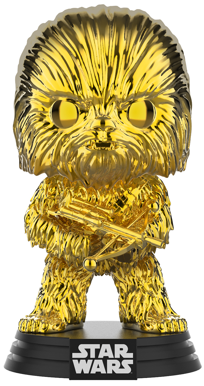 Фигурка Funko POP: Star Wars 2019 Galactic Convention – Chewbacca Bobble-Head Exclusive (9,5 см) фото