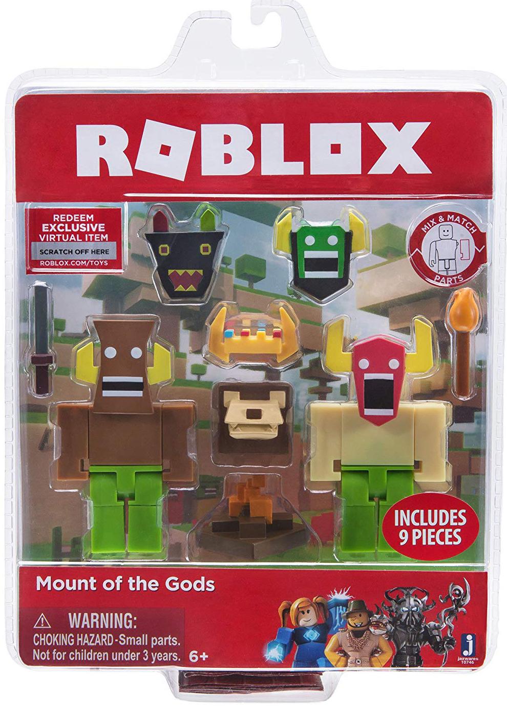 Фото - Набор фигурок Roblox: Mount Of The Gods набор фигурок roblox fashion famous