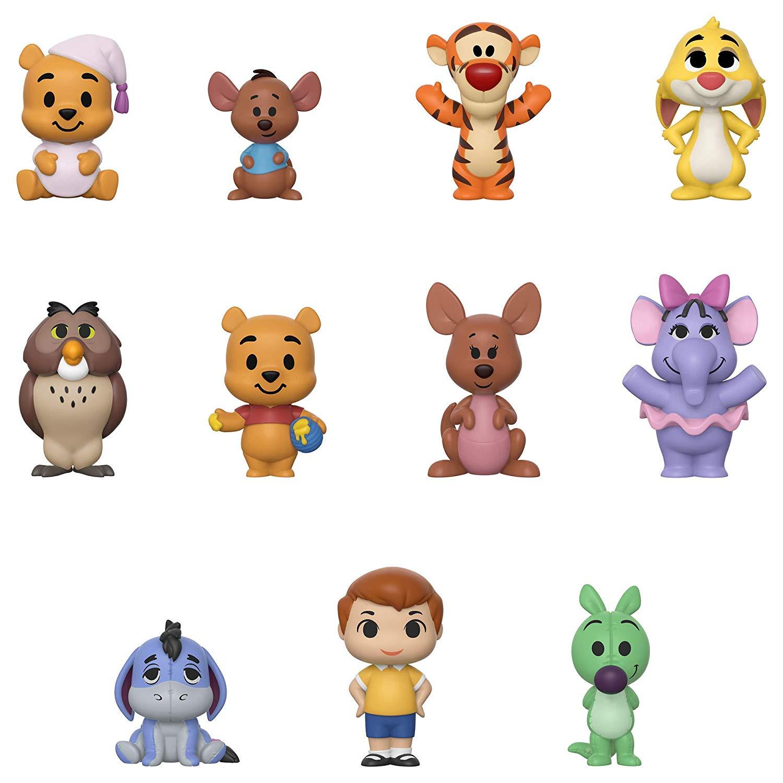 Фото - Фигурка Funko Vynl Disney: Winnie The Pooh Mini Figures (1 шт. в ассортименте) игрушка для собак triol disney winnie the pooh тигруля полиэстер 35 см 1 шт