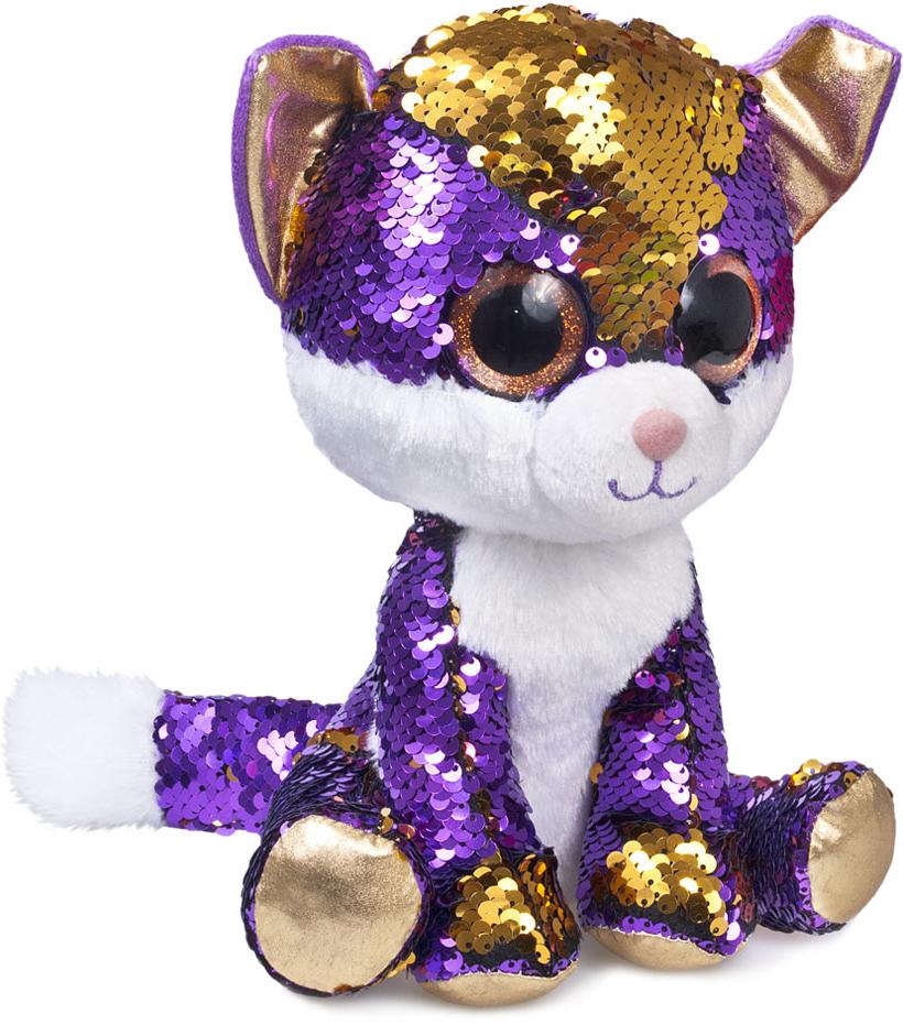 Мягкая игрушка Котёнок Аметист (15 см)