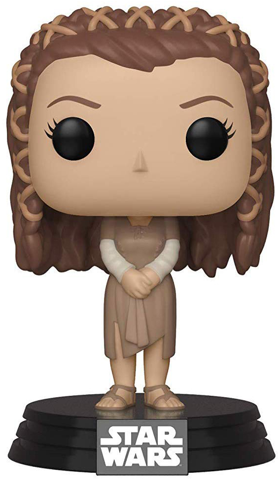 Фигурка Funko POP: Star Wars – Princess Leia Ewok Village Bobble-Head (9,5 см) фото
