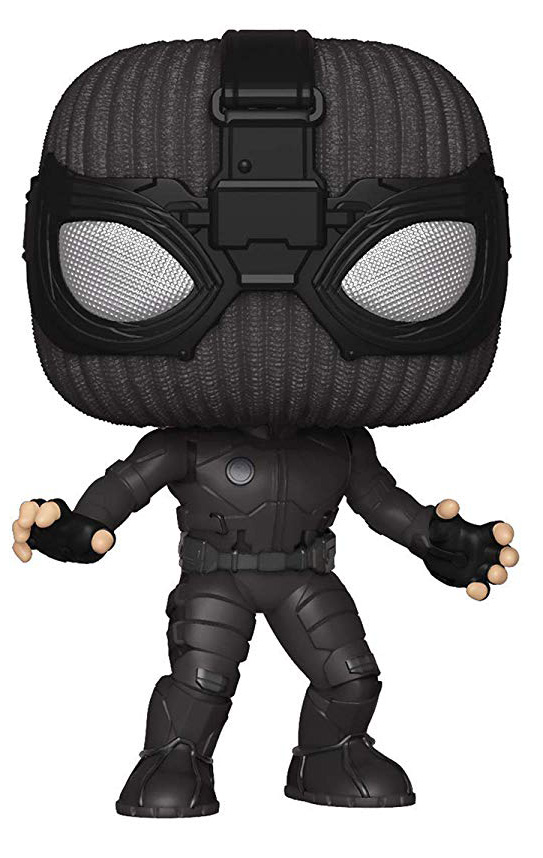Фигурка Funko POP: Spider-Man: Far From Home – Spider-Man Stealth Suit Bobble-Head (9,5 см)