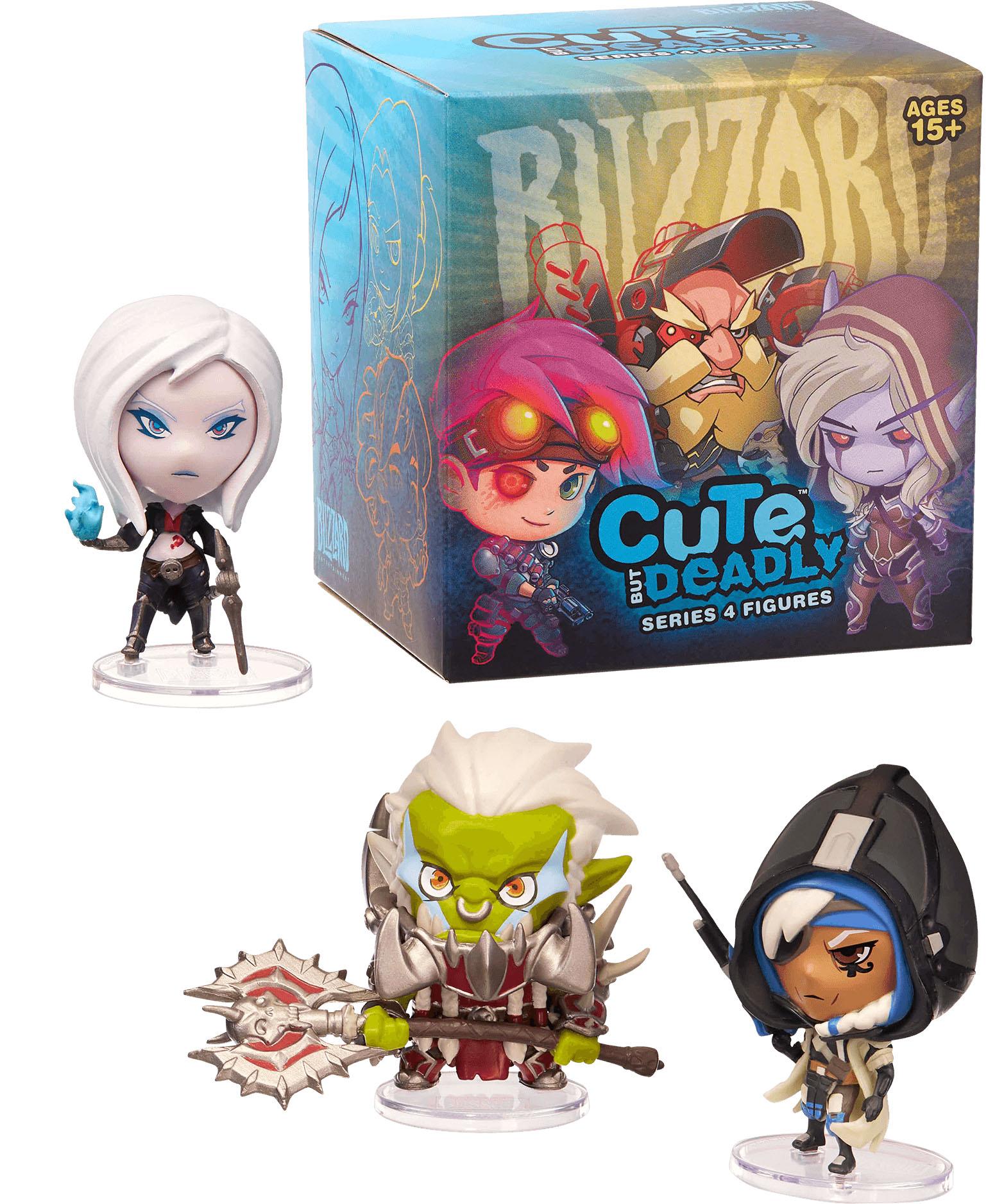 Фигурка Blizzard: Cute But Deadly – Series 4 Blind Box (1 шт. в ассортименте)