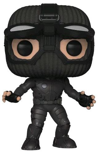 Фигурка Funko POP: Spider-Man: Far From Home – Spider-Man Stealth Suit Googles Up Bobble-Head (9,5 см) фото