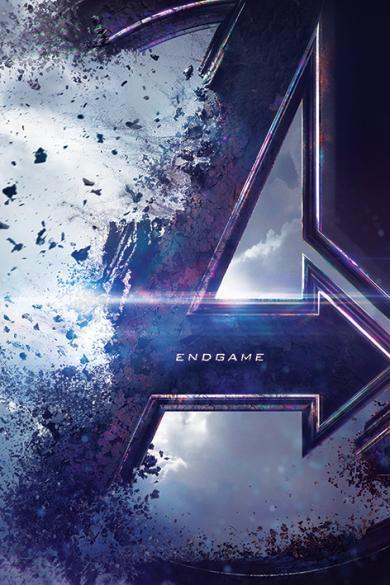 Плакат Avengers Endgame: Teaser (№254) фото