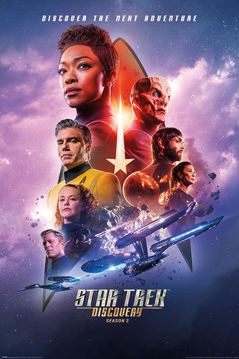 Плакат Star Trek: Discovery Next Adventure (№253)