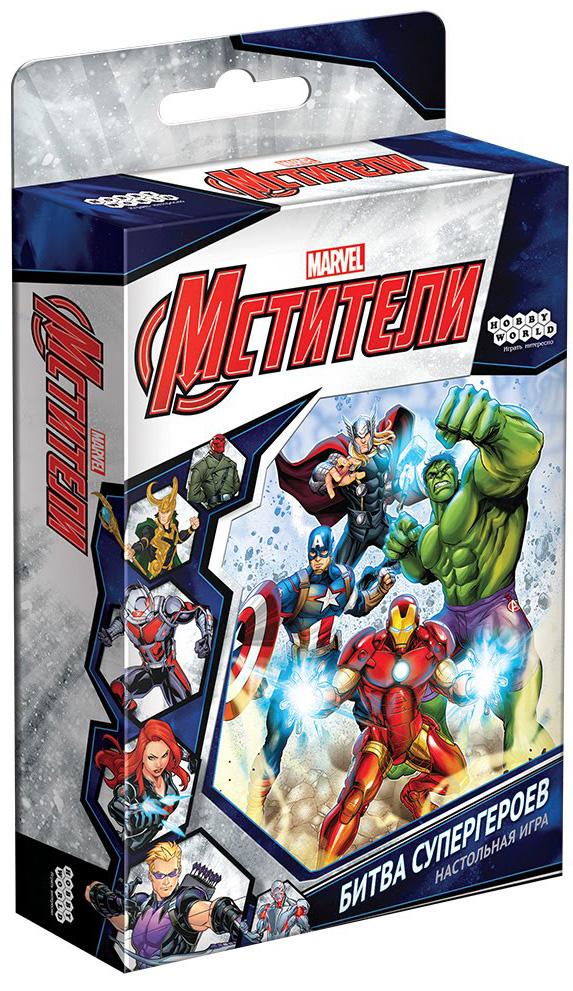 Настольная игра Мстители: Битва супергероев