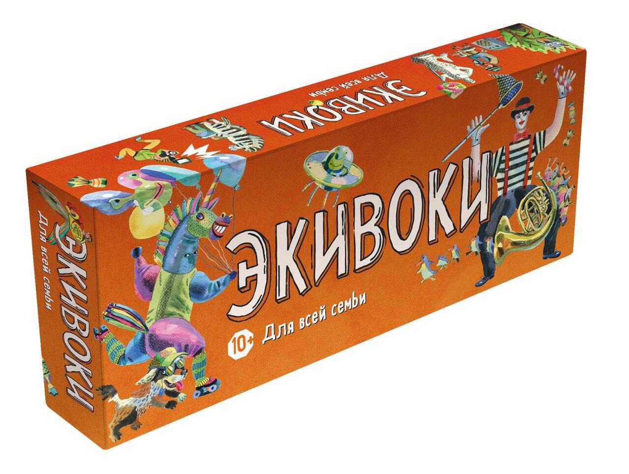 Настольная игра Экивоки: Для всей семьи фото