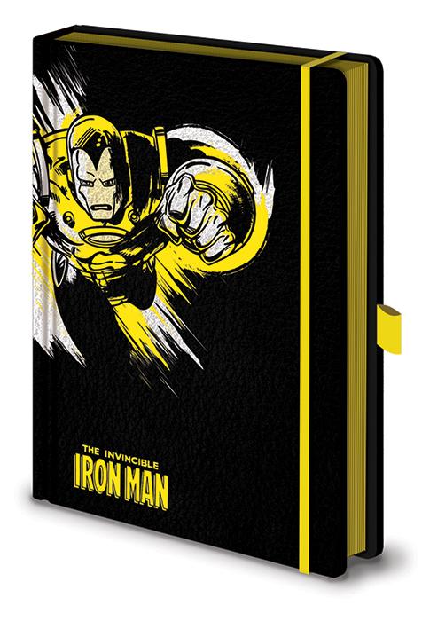 marvel wearable iron man mk5 voice activated deformation helmet Блокнот Marvel: Retro Iron Man Mono